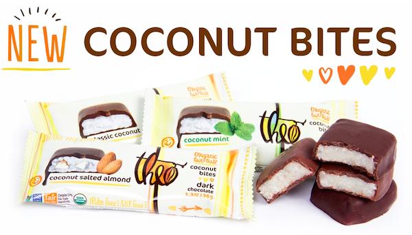 Theo Chocolate Coconut Bites